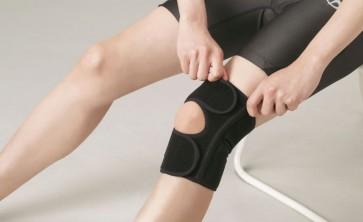 Knie Bandage EasyFit Schwarz