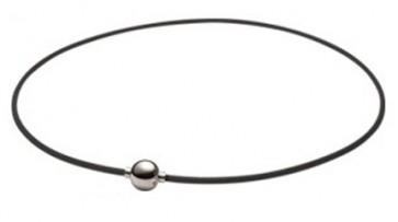 X100 Halskette  Mirror Ball Silber