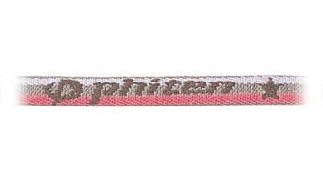 Standard-Halskette PinkGrau/Streifen