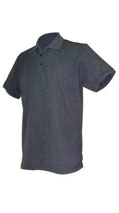 Phiten Raku Polo Shirt Schwarz