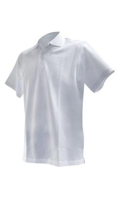 Phiten Raku Polo Shirt Weiss