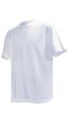T-Shirt Rundhals Weiss