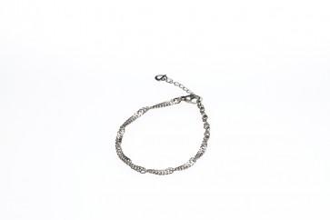 Phiten Titanium Twist Armband 16+3cm