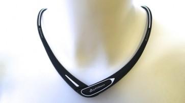 Sport-Halskette Cross Type SchwarzWeiss