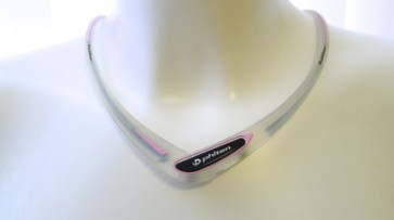 Sport-Halskette Cross Type TransparentPink