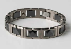 Phiten Titanium Bracelet GT-CI Black 19cm