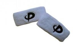 Handgelenkband Kurz (2stk) Weiss