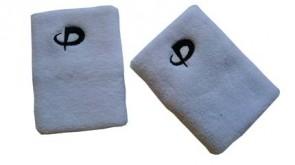 Handgelenkband Lang ( 2stk) Weiss