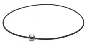 Rakuwa METAX Halskette Mirror Ball, Silber/Silber 45cm