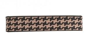 Sport  Armband S-Gitter,  Schwarz / Beige, 17 cm