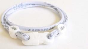 X50 Halskette Slim Weiss