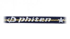 Standard-Halskette BlauGelbeLinie