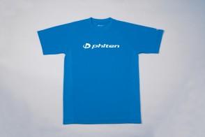 RAKU Sport T-Shirt mit Logo Blau