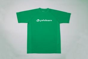 RAKU Sport T-Shirt mit Logo Grün
