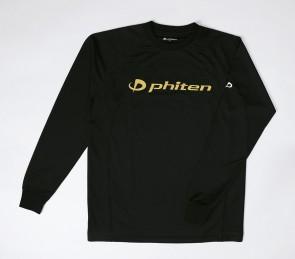 Raku Sport Shirt Logo Longsleeve Black/Gold