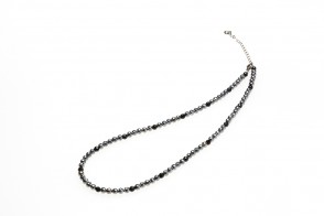 Phiten Onyx+Terahertz Halskette 40+5cm