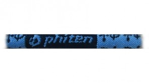 Standard-Halskette Monogramm HellblauBlau