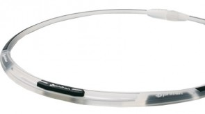 Sport-Halskette 3Line TransparentSchwarz