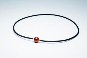 Rakuwa METAX Halskette Mirror Ball, Rot