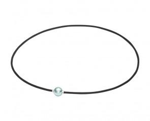 Extreme METAX Halskette Mirror Ball Light Blau/Silber