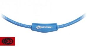 X30 Sliding-Halskette BlauWeiss