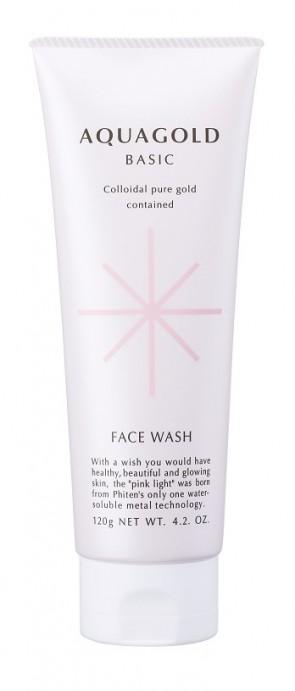 Phiten Aquagold Face Wash