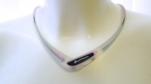 Sport-Halskette Cross Type (50cm) TransparentPink