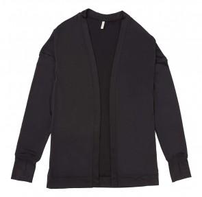 Phiten UV-Cut Cardigan Schwarz One Size