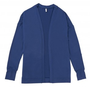 Phiten UV-Cut Cardigan Blau One Size