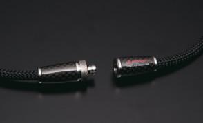 X100 Halskette Carbon Model (50cm) Silber