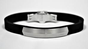 Bracelet Phiten Rakuwa METAX Shield avec 3 aimants
