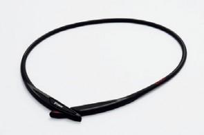 RAKUWA METAX EXTREME Cross Collier Noir/Rouge 50cm