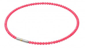 METAX Collier Crystal Touch Corail (45cm)