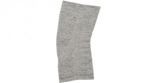 Bandage de genou Soft Type, ultra-chaud, gris