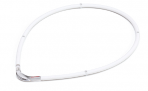 Collier sport M-Style II, blanc