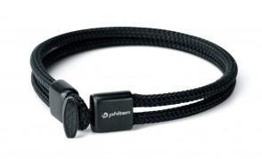 Bracelet Rakuwa Phiten X100 Carbone noir 1