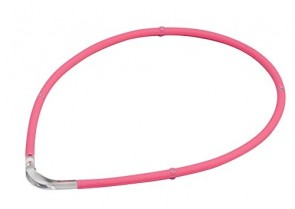 Collier sport M-Style II, pink, 45 cm