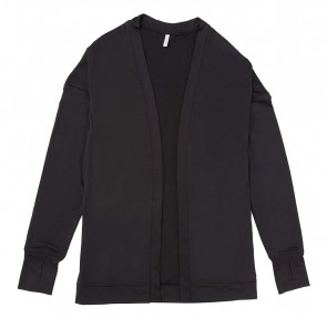 Phiten UV-Cut Cardigan Noir One Size