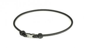 X30 Collier High End Leather Touch (50cm) Noir