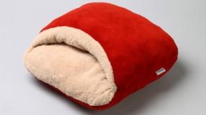 Cuscino scaldapiedi, rosso