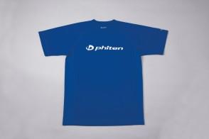 RAKU Sport T-Shirt con Logo Blu Reale