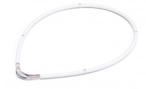 Collana sportiva M-Style II, bianco