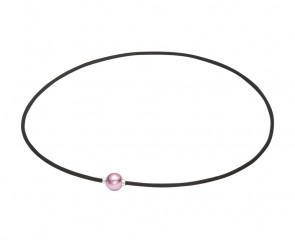 Collana METAX Extreme Mirror Ball Light argento/rosa